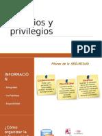 Usuarios y Privilegios