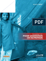 The Impact of Poor Sanitation on Nutrition 1