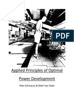 Applied Principles of Optimal Power Development
