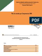 Plan de Estudios - Quimica_I
