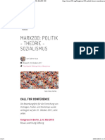 CALL FOR PAPERS MARX 200