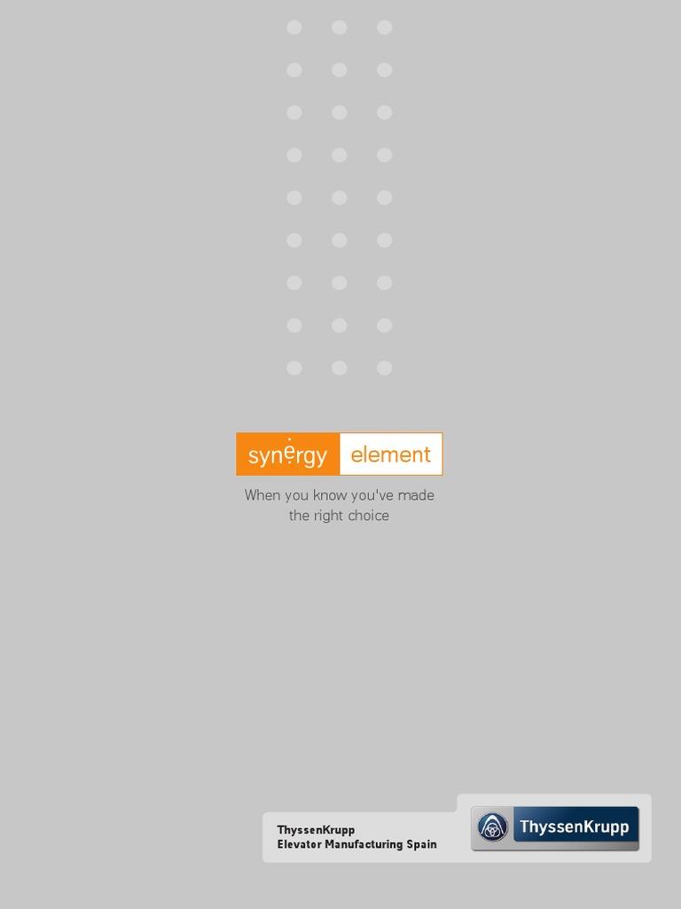 Synergy Element Brochure | Elevator | Door