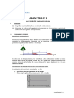 LAB N° 3 - MOVIMIENTO UNIDIMENSIONAL