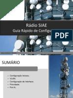 Guia Configuração de Rádio SIAE
