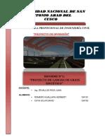 Cancha Sintetica - Proyectos de Inversion