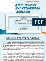 Kel.2 MO Strategi Operasi Mencapai Keunggulan Bersaing