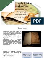 Marco Legal y Políticas de La Empresa