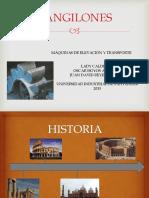 Diapositiva sobre Cangilones