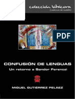 Confusión de lenguas. Un retorno a Sandor Ferenczi - Miguel Gutierrez Peláez.pdf
