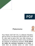 Platonismo y Aristotelismo
