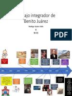 Linea Del Tiempo de Benito Juarez
