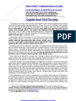 Social Capital And Civil Society