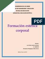 Trabajo Singular Formacion Estetica Corporal