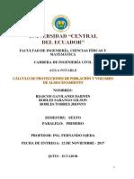 Poblacion y Caudales Arajuno Riascos Robles s. Robles t. a1 p1 s6 2017