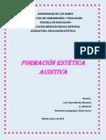 Trabajo Singular Formacion Estetica Auditiva
