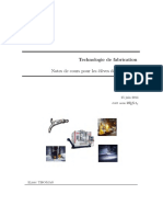 Technologie de Fabrication PT