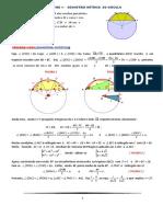 1. Geométria Métrica Do Circulo