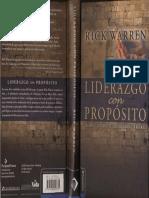 Liderazgo Con Propósito - Rick-Warren