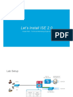 Lets Install ISE 2.0