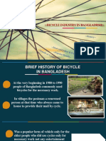 Presentation bicycle industry in bd
