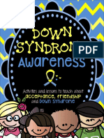 down syndrome awareness activity book