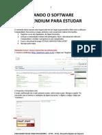 Usando o Software Compendium Para Estudar