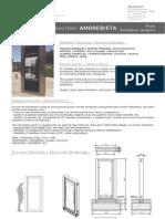 Mobiliario urbano Proiek - Panel informativo Amorebieta