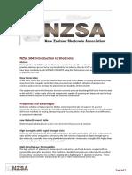 New Zealand Standart for Shootcrete