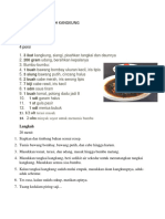 Cara Membuat Cah Kangkung