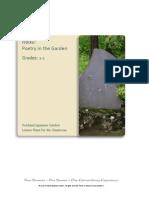 Portland Japanese Garden Haiku