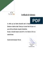 Certificado Ensayo y Literatura en América Latina