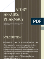 Regulatory Affairs