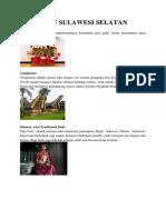 Suku Sulawesi Selatan