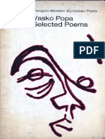 Vasko Popa - Selected Poems