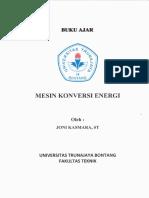 Buku Ajar Mesin Konversi Energi