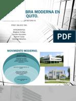Analisis Obra Moderna en Quito