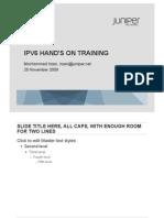 pelatihan IPv6