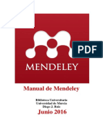 Manual Mendeley Junio 2016