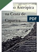 Acção Antrópica na Costa de Caparica