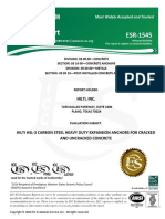 ICC ESR-1545 for HSL-3 Heavy Duty Expansion Anchors Approval Document ASSET DOC LOC 11