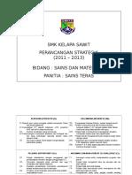 Perancangan strategik sains teras 2011-13.doc