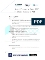 Yearly Review of Persons in News 2017