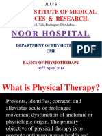 Basics of Physiotherapy