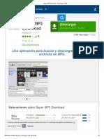 Super MP3 Download - Descargar Gratis