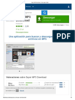 Super MP3 Download - Descargar Gratis
