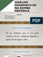Análisis Termodinámico de Una Bomba Periférica