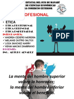 1 Expo Etica Profesional