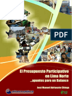 Presupuesto Participativo Lima Norte