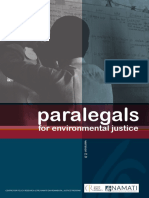 Practice Guide for Environmental Justice Paralegals