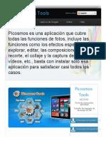 Picosmos Tools